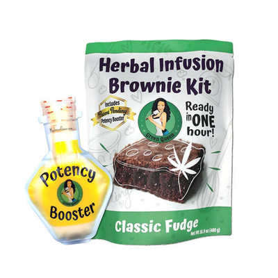 Make your own super potent brownies at home with this easy to use kit.