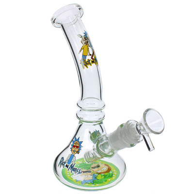 Rick and Morty team up in this awesome bong water pipe.