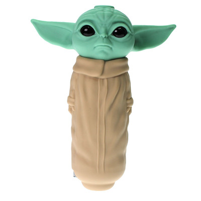 Baby Yoda is here to help us smoke with this awesome cool new silicone hand pipe.