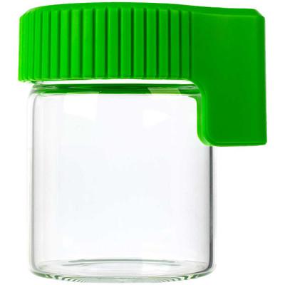 Cookies LED Lit Airtight Mag Jar, Green