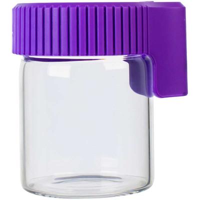 Cookies LED Lit Airtight Mag Jar, Purple