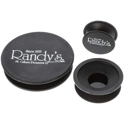 Randy's Silicone Cleaner Caps, Black