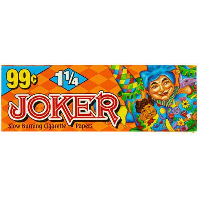 Joker Orange 1 1/4 Slow Burning Rolling Paper