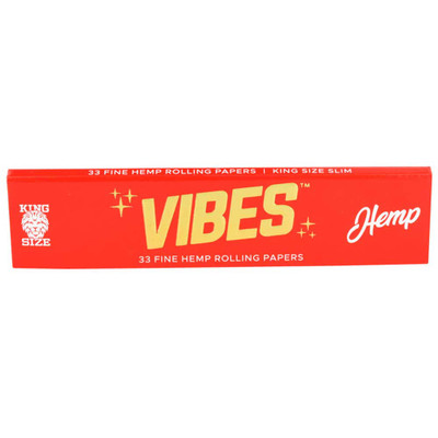 Vibes Hemp King Size Slim Rolling Papers