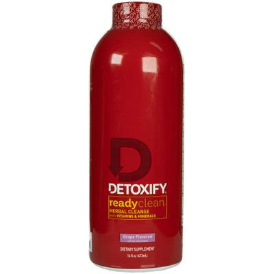 Detoxify Ready Clean Herbal Cleanse Grape Flavored Detox Drink