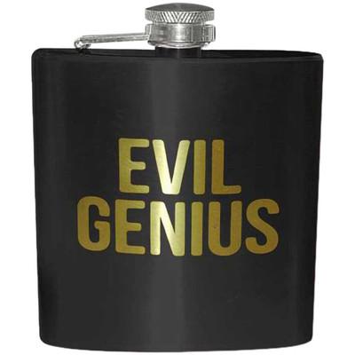 Evil Genius 6 oz Flask