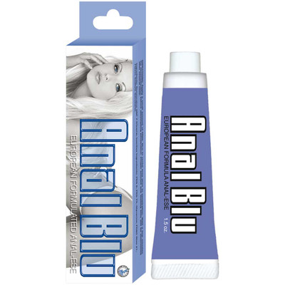 Anal Blu Large 1.5 Ounce Desensitizing Anal Lubricant