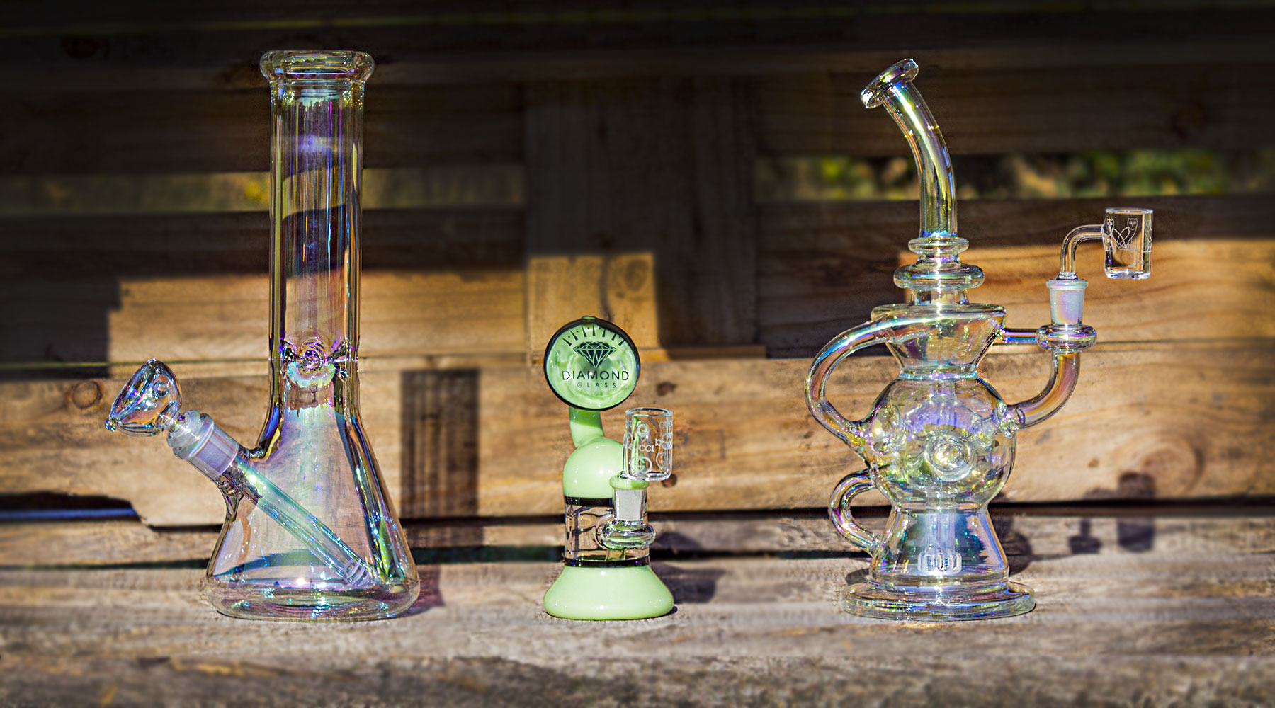 Best Glass Water Pipes, Dab Rigs, and Bubblers With Discreet Free Shipping