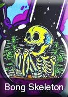 Bong Skeleton Graphic Style