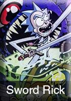 Sword Rick Graphic Style