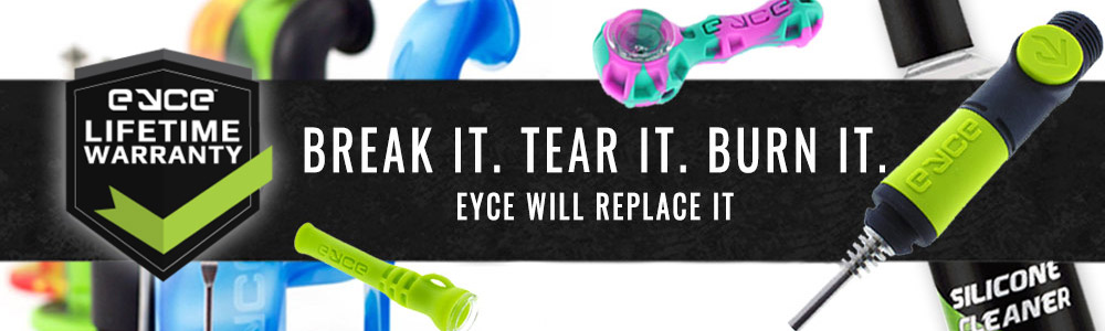 Eyce Silicone products feature a Lifetime Warranty!