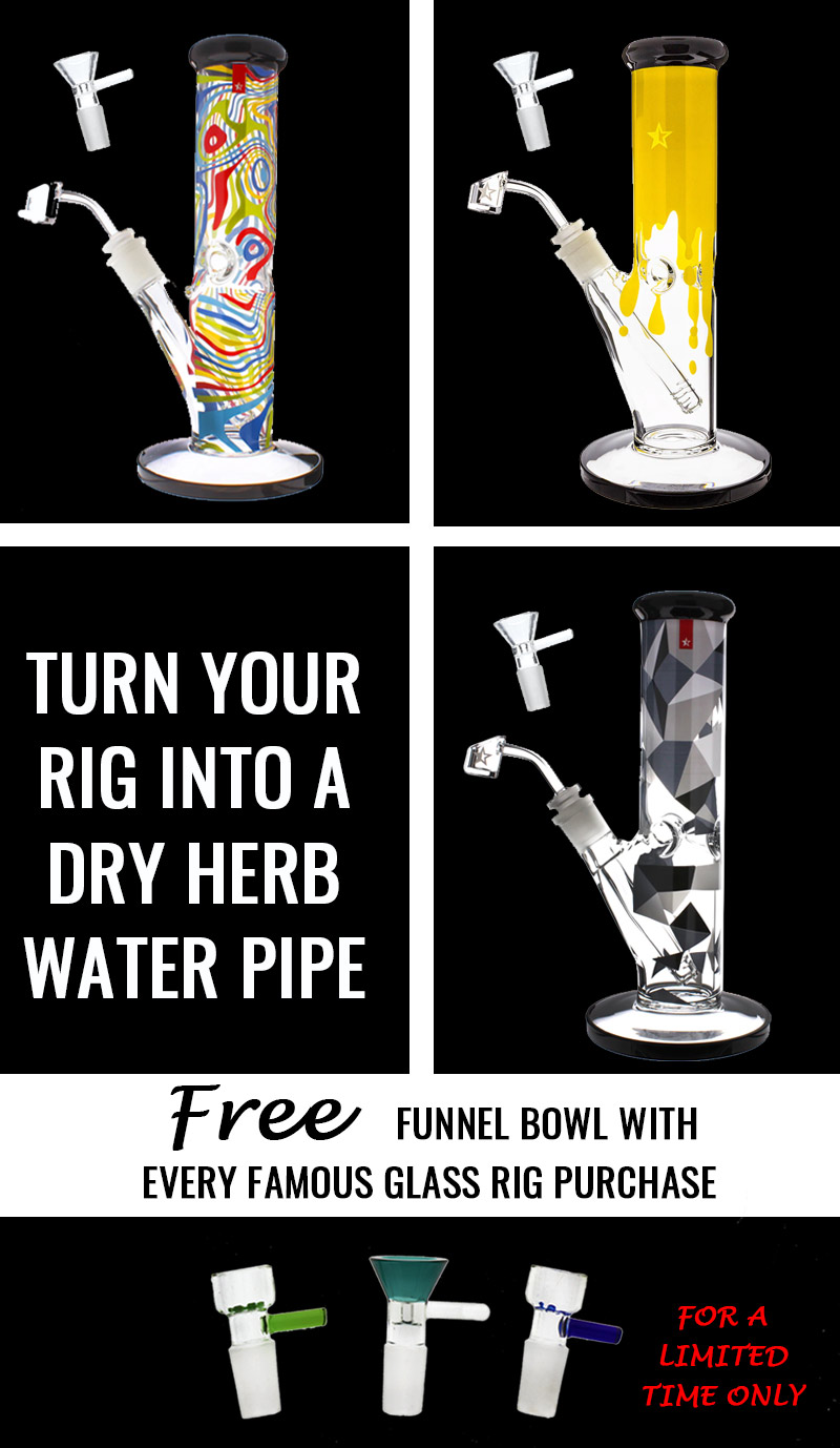 Free dry herb bowl promotion banner