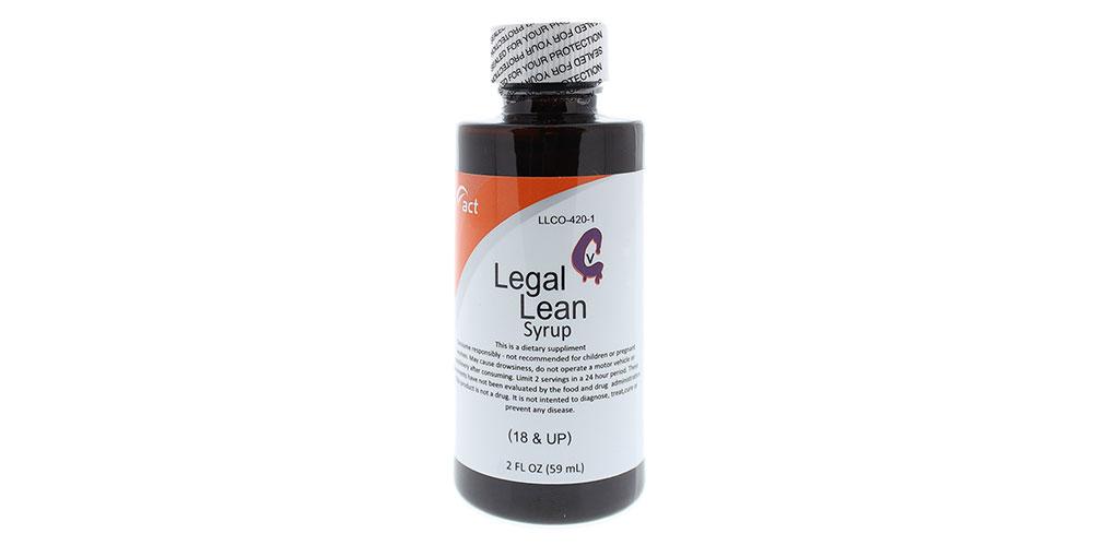 Legal Lean Legal Healthier Alternative To An Addictive
