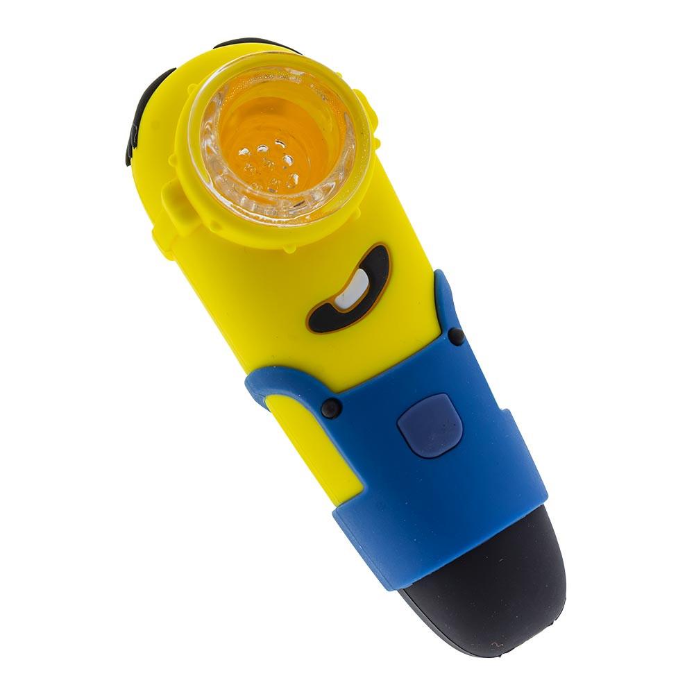 Silicone Minion Pipe