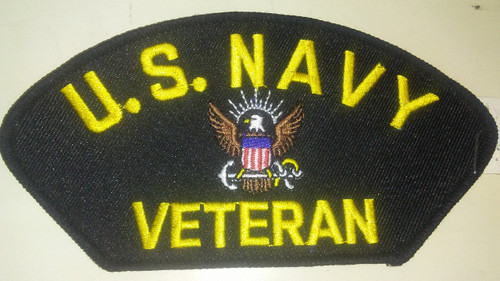 US Navy Veteran Patch