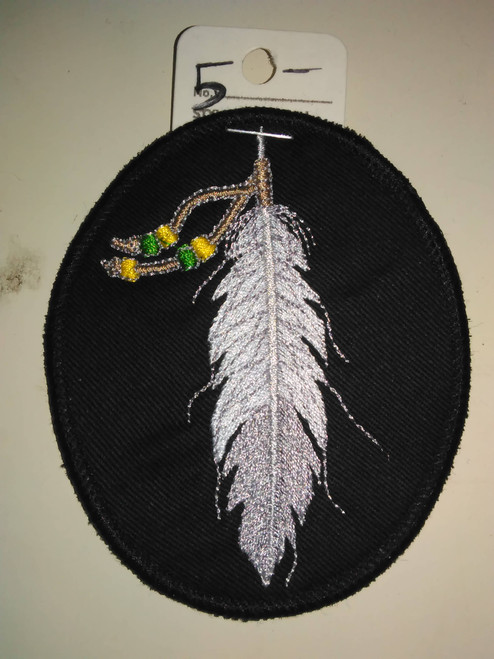 Native American eagle feather