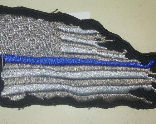 Subdued Wavy Service Flag Patch