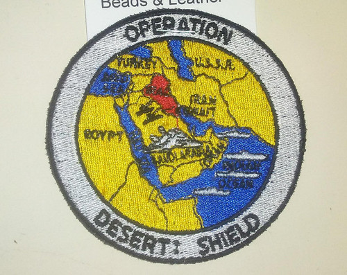 Operation Desert Shield Patch