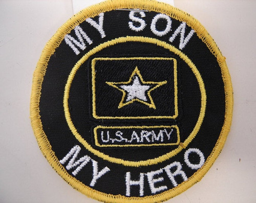 """My Son, My Hero, U.S. Army"""