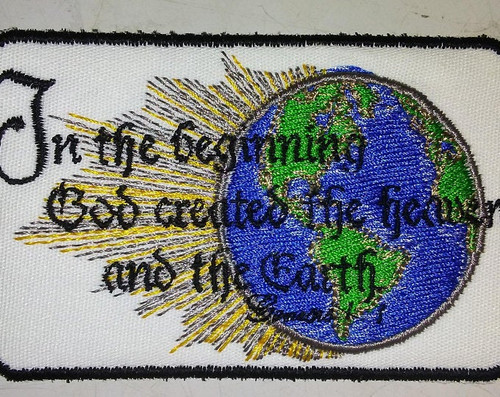 Genesis 1:1 quote patch