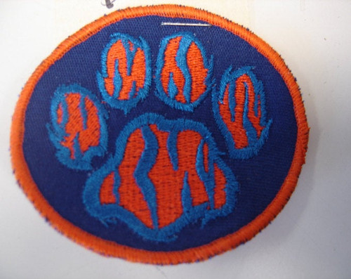 Tiger Paw Patch