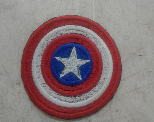3 inch captain American shield patch
