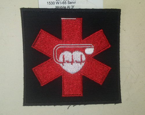 "Pacemaker patch  3"" square"