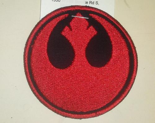 "Star Wars Rebels Patch  3"" circle"