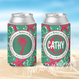 Christmas Beach Vacation Koozies - Christmas is Better at the Beach