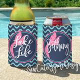 Koozies - Lake House Vacation - Lake - River - Lake Life Mermaid