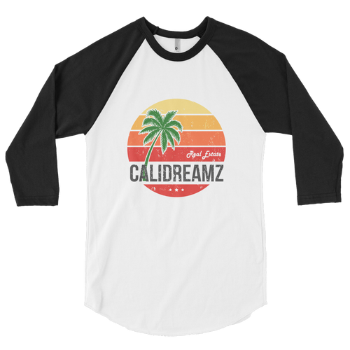 Cali Dreamz 3/4 sleeve raglan shirt