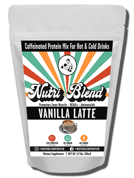 Vanilla Latte is our new flavor that is still loaded with lean 22g of isolate whey but is also CAFFEINATED!. This innovative new protein was specially formulated not only for serious bodybuilders but for the everyday health enthusiast that wants the best tasting protein out and a little kick of energy. Give this a try with any hot or cold liquid and you will be shockingly surprised by the taste and mix-ability. Add one scoop to your morning coffee and WOW!