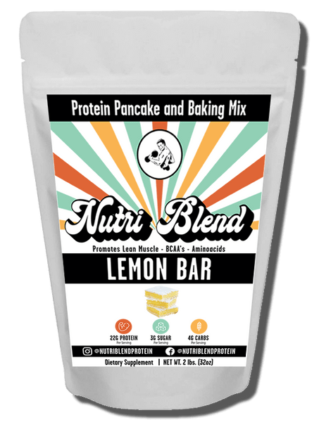 Lemon Bar is one of our newest flavor that packs a seriously delicious punch! With so many applications, this flavor is by far one the the favorites for baking and making all kinds of healthy, protein treats. Even when mixed with just water this protein just taste delicious. You will think its cheat day every day.