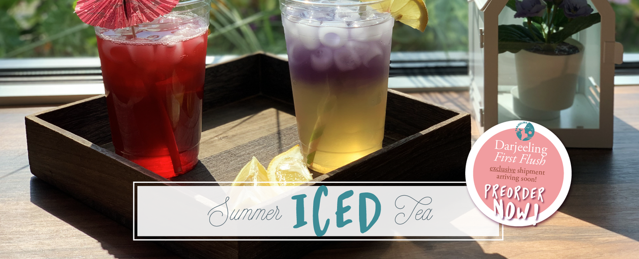 SUMMER ICED TEA!
