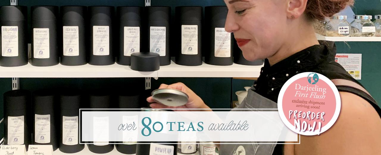 80 Teas is A LOT!
