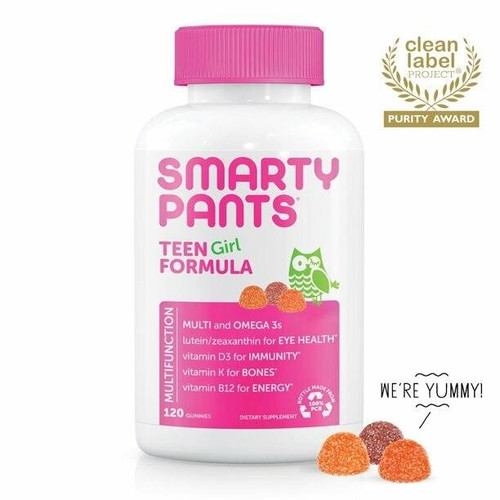 SmartyPants Smarty Pants Teen Girl Gummy Vitamins 120ct