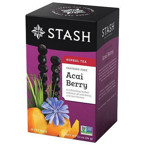 Stash Tea Decaf Acai Berry Tea 18 Bags