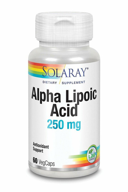 Solaray Alpha Lipoic Acid 60ct 250mg