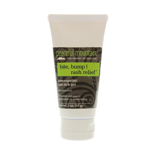 Peaceful Mountain Bite, Bump, and Rash Relief Gel 2oz