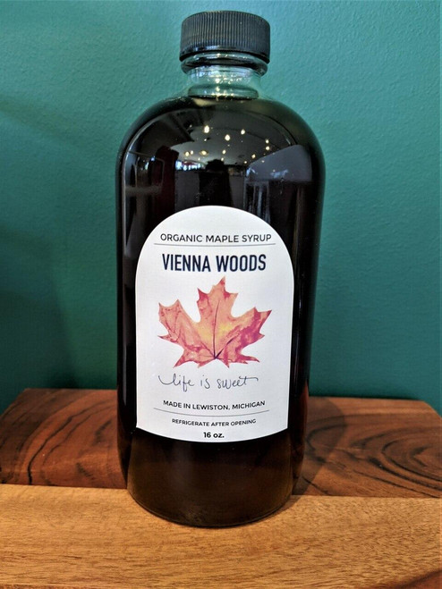 Vienna Woods Maple Organic Maple Syrup 16oz