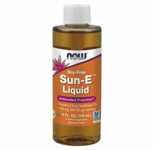 NOW Sun-E Liquid 4 fl oz