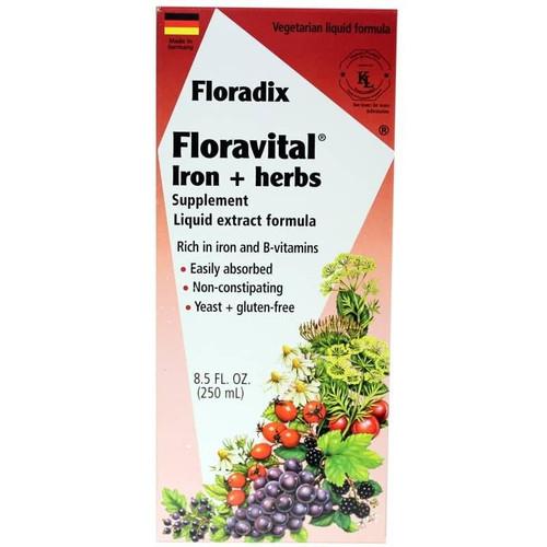 Flora Health Floradix Iron And Herbs 8.5 Oz