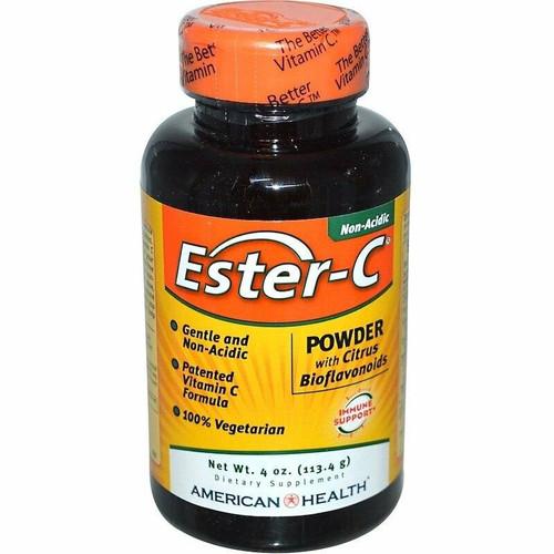 American Health Ester-C Powder w/ Citrus Bioflavinoids, 4oz