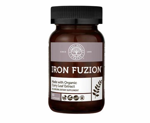 Global Healing Center Iron Fuzion 60ct