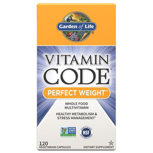 Garden Of Life Perfect Weight Multivitamin 120ct