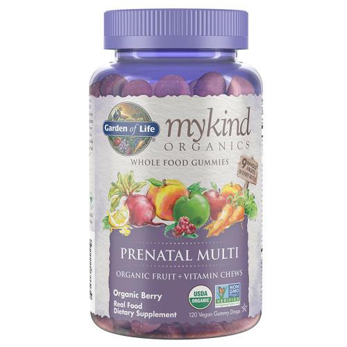 Garden Of Life My Kind Organics Prenatal Multi Gummy Berry Flavor 120ct