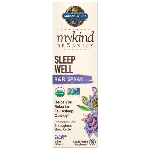 Garden Of Life My Kind Organics Sleep Well RandR Spray 2 fl oz