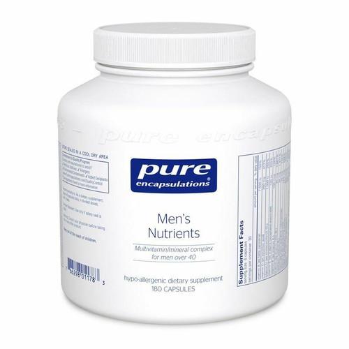 Pure Encapsulations Mens Nutrients Multivitamin over age 40 180 Capsules