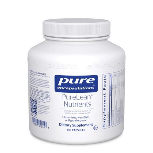Pure Encapsulations PureLean Nutrients 180ct