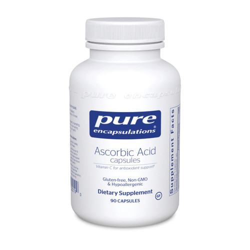 Pure Encapsulations Ascorbic Acid Capsules 1,000mg 90ct